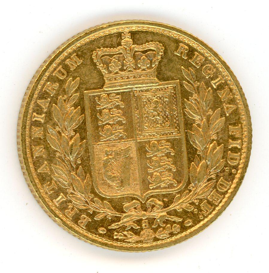 Thumbnail for 1877S Australian Shield Gold Sovereign C