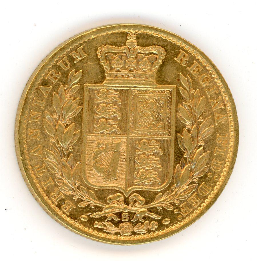 Thumbnail for 1878S Australian Shield Gold Sovereign