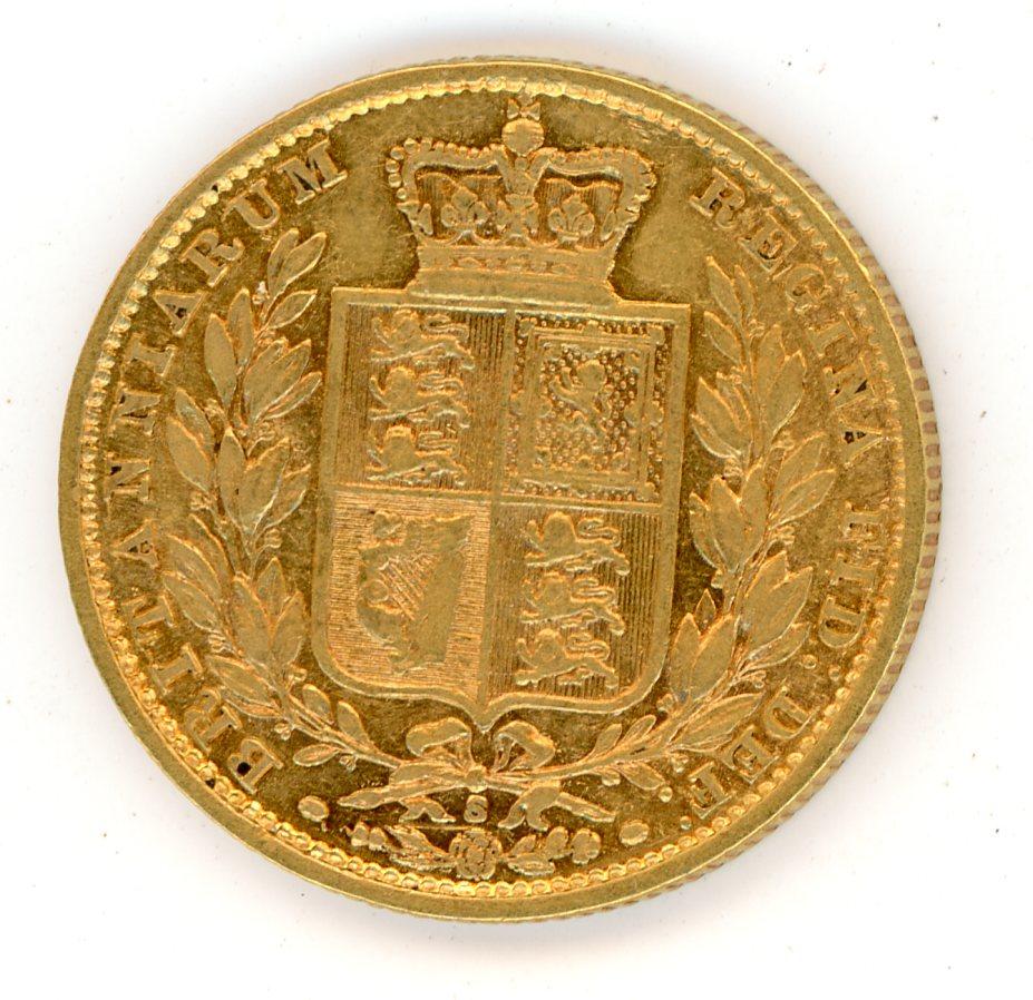 Thumbnail for 1880S Australian Shield Gold Sovereign