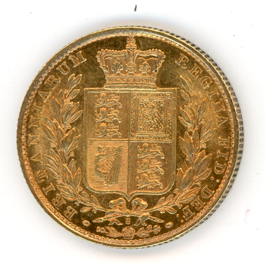 Thumbnail for 1881S Australian Shield Gold Sovereign
