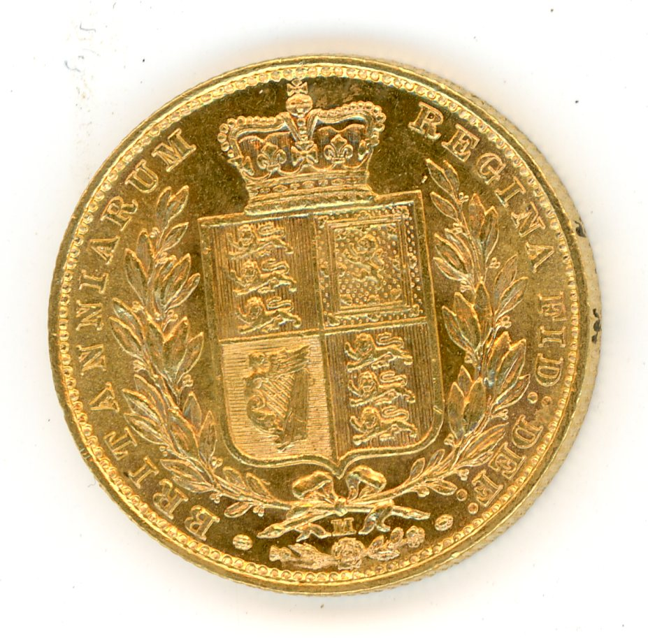 Thumbnail for 1884M Australian Shield Gold Sovereign