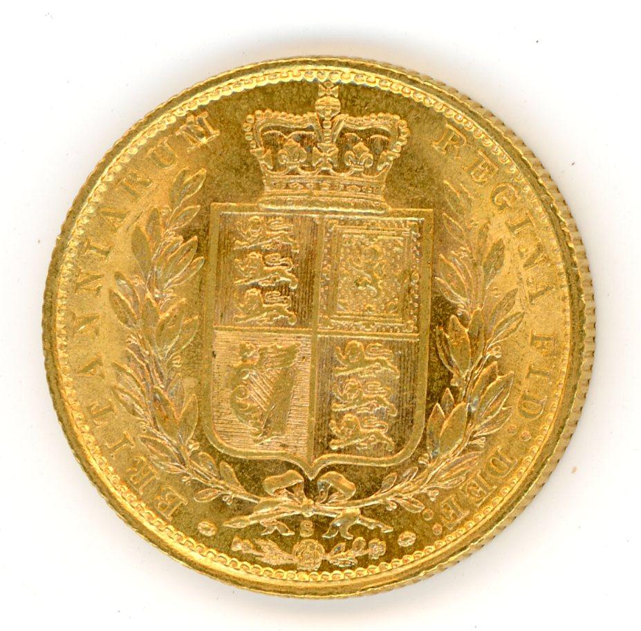 Thumbnail for 1884S Australian Shield Gold Sovereign