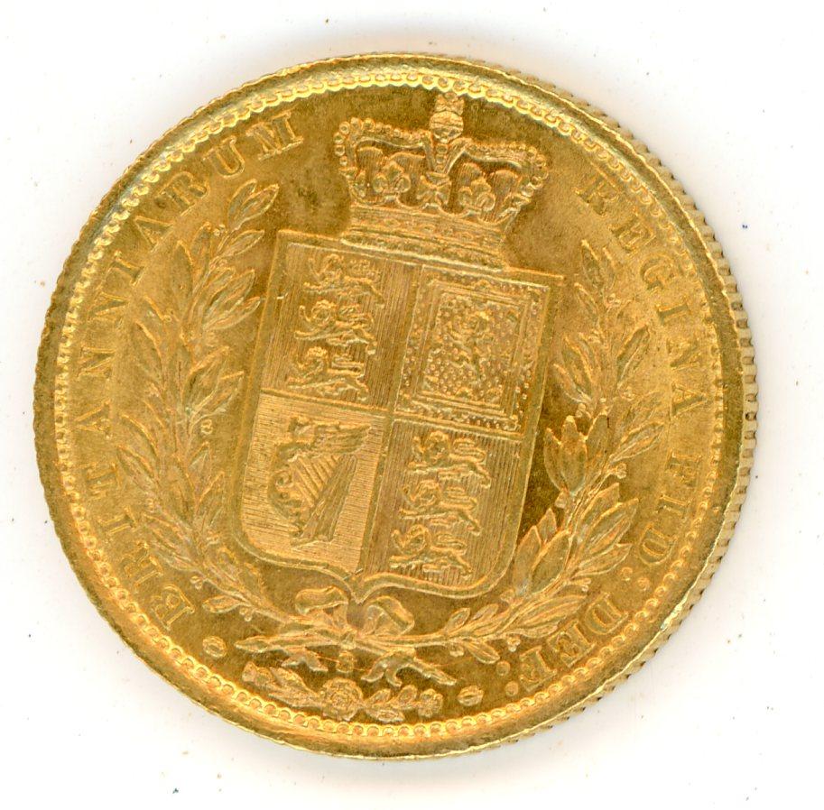 Thumbnail for 1887S Australian Shield Gold Sovereign