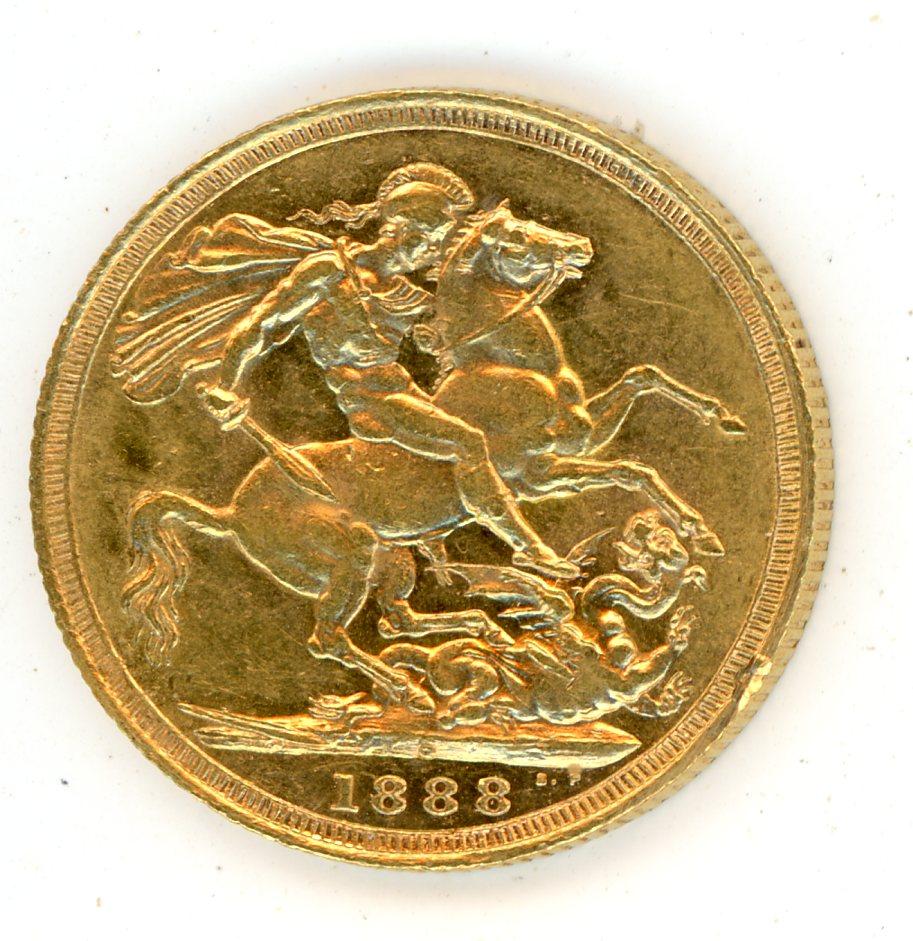 Thumbnail for 1888S Australian Jubilee Head Gold Sovereign