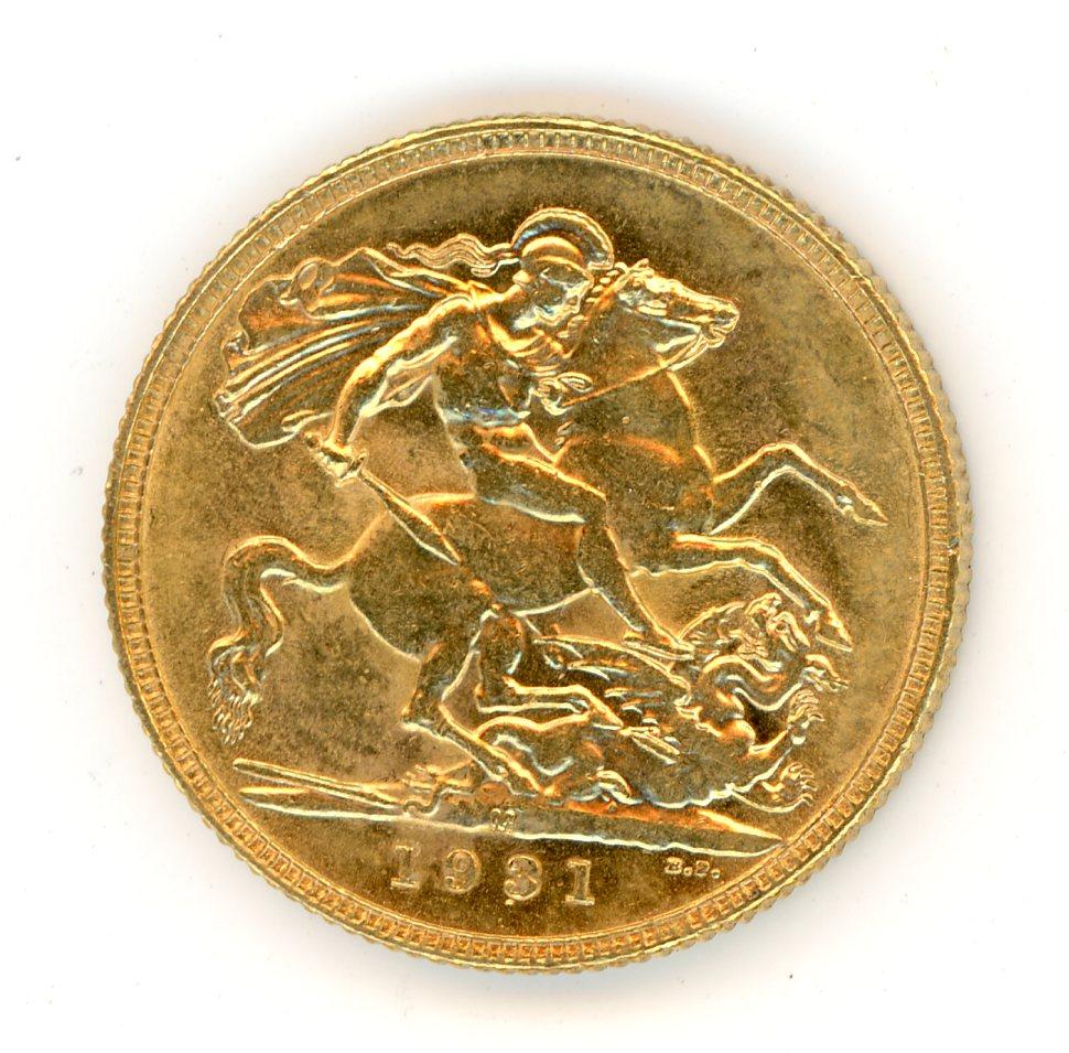 Thumbnail for 1931M Australian George V Gold Sovereign