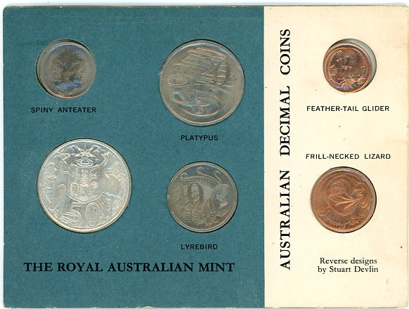 Thumbnail for 1966 Six Coin Mint Set