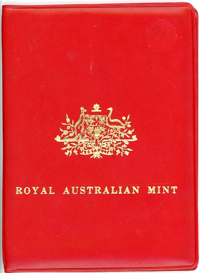 Thumbnail for 1971 Australian Mint Set In Red