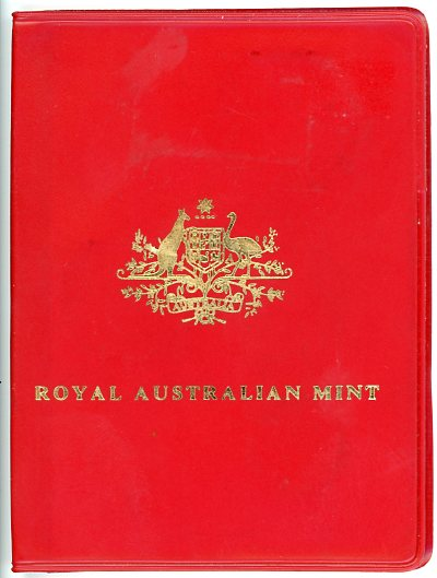 Thumbnail for 1973 Australian Mint Set In Red Wallet