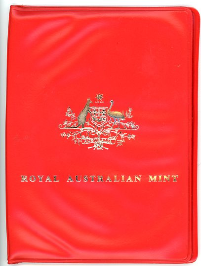 Thumbnail for 1974 Australian Mint Set In Read Wallet