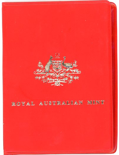Thumbnail for 1975 Australian Mint Set In Red Wallet