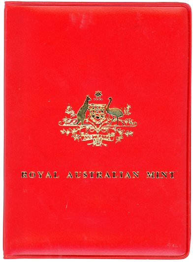 Thumbnail for 1978 Australian Mint Set In Red Wallet