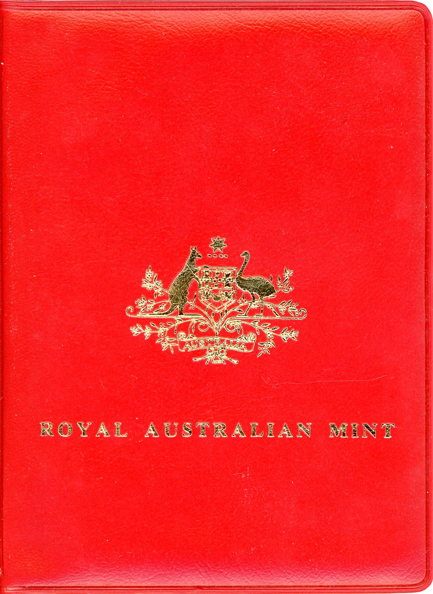 Thumbnail for 1980 Australian Mint In Red Wallet