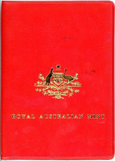 Thumbnail for 1981 Australian Mint Set In Red Wallet