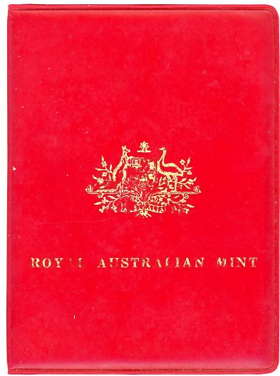 Thumbnail for 1983 Australian Mint Set in Red Wallet