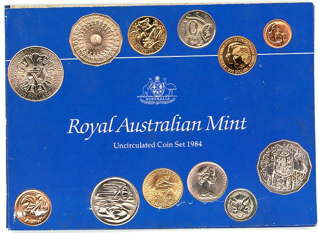 Thumbnail for 1984 Mint Set