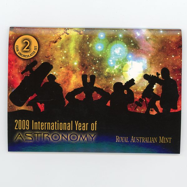 Thumbnail for 2009 International Year of Astronomy 2 Coin Mint Set