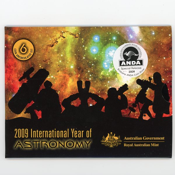 Thumbnail for 2009 International Year of Astronomy Mint Set ANDA Edition - Brisbane