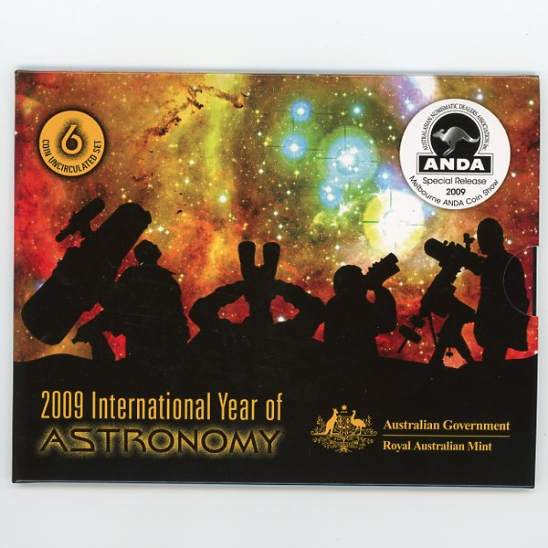 Thumbnail for 2009 International Year of Astronomy Mint Set ANDA Edition - Melbourne