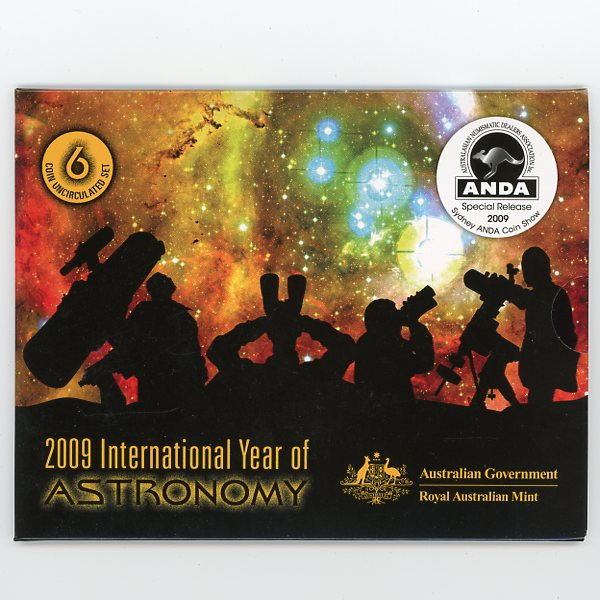 Thumbnail for 2009 International Year of Astronomy Mint Set ANDA Edition - Sydney