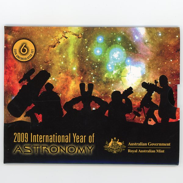 Thumbnail for 2009 International Year of Astronomy Mint UNC Set