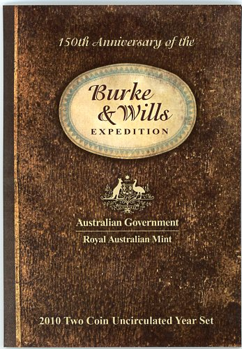 Thumbnail for 2010 Two Coin Mint Set - Burke and Wills
