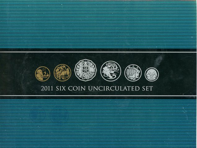 Thumbnail for 2011 Six Coin Mint Set