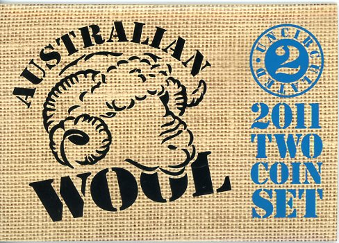 Thumbnail for 2011 Two Coin Mint Set - Australian Wool