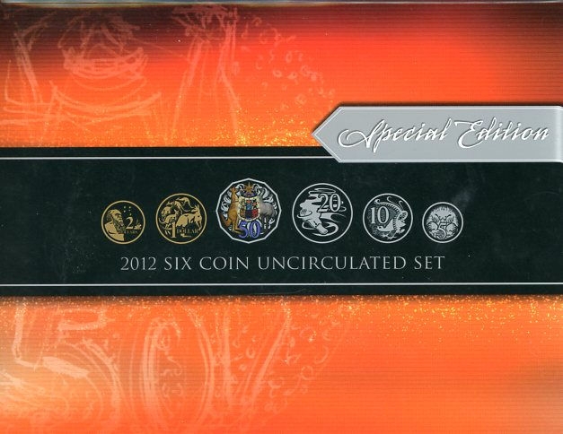 Thumbnail for 2012 Six Coin Mint Set - Special Edition