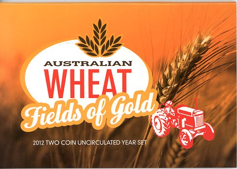 Thumbnail for 2012 Two Coin Mint Set- Australian Wheat Fields of Gold