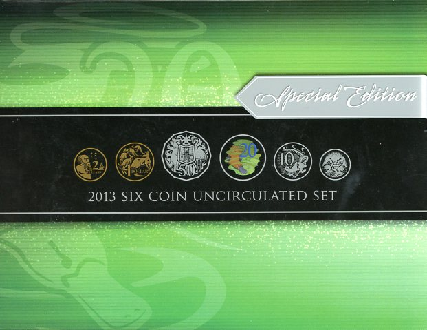 Thumbnail for 2013 Six Coin Mint Set - Special Edition