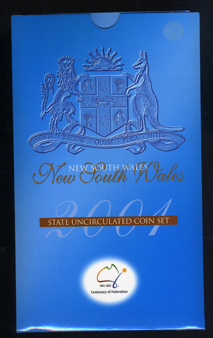 Thumbnail for 2001 Centenary of Federation 3 Coin Mint Set - New South Wales