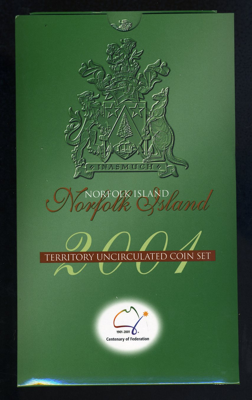 Thumbnail for 2001 Centenary of Federation 3 Coin Mint Set - Norfolk Island