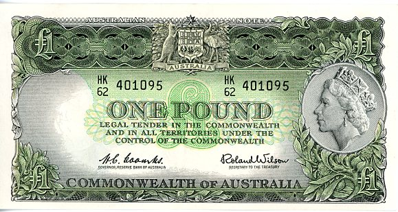 Thumbnail for 1961 Coombs-Wilson HK62 401095 UNC