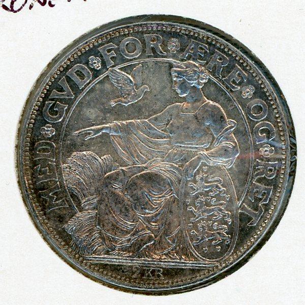 Thumbnail for 1903 Denmark Silver 2 Kroner - aUNC