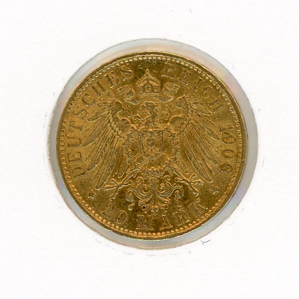 Thumbnail for 1906A German 20 Marks