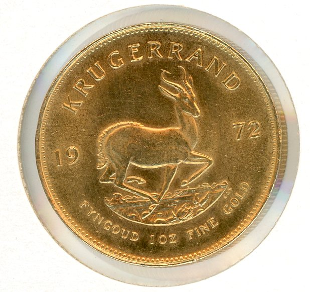 Thumbnail for 1972 South Africa 1oz Gold Krugerrand