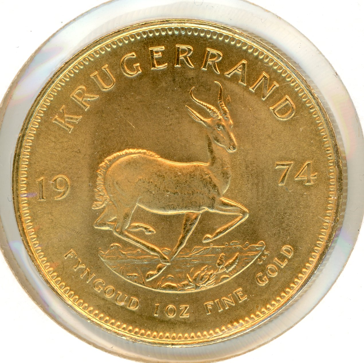 Thumbnail for 1974 South Africa 1oz Gold Krugerrand
