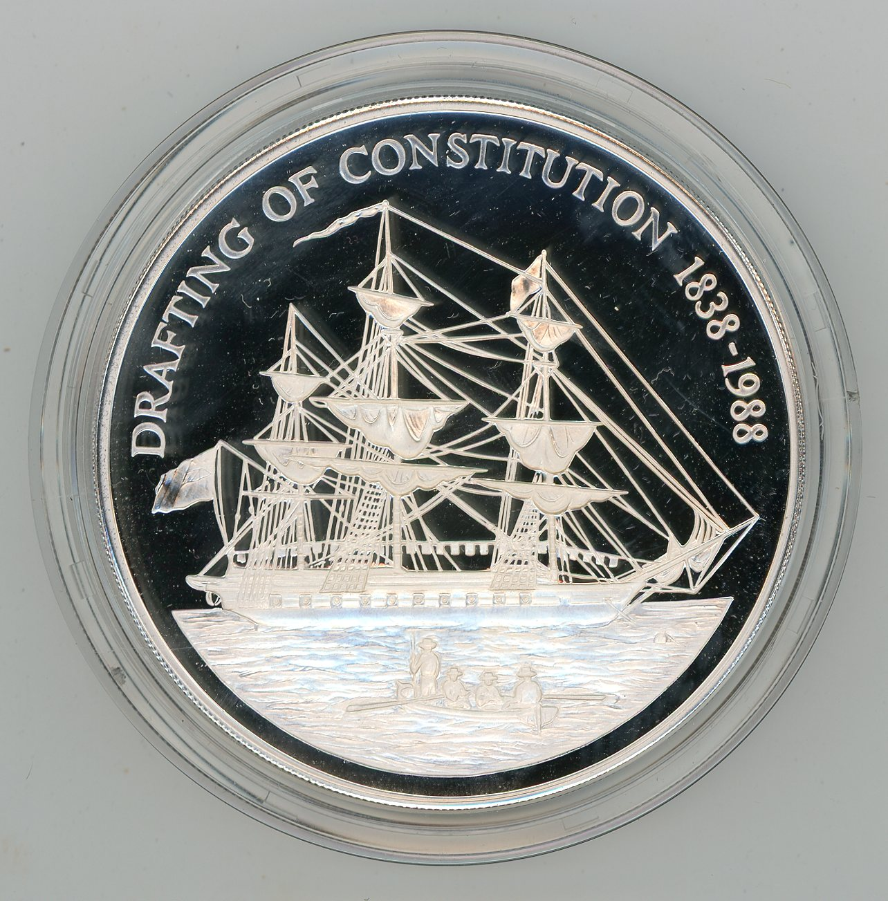 Thumbnail for 1988 5oz Pitcairn Islands $50 Silver Proof .999 Coin
