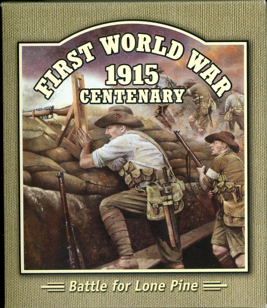 Thumbnail for 2015 Solomon Islands Coloured Silver Proof - First World War Battle for Lone Pine
