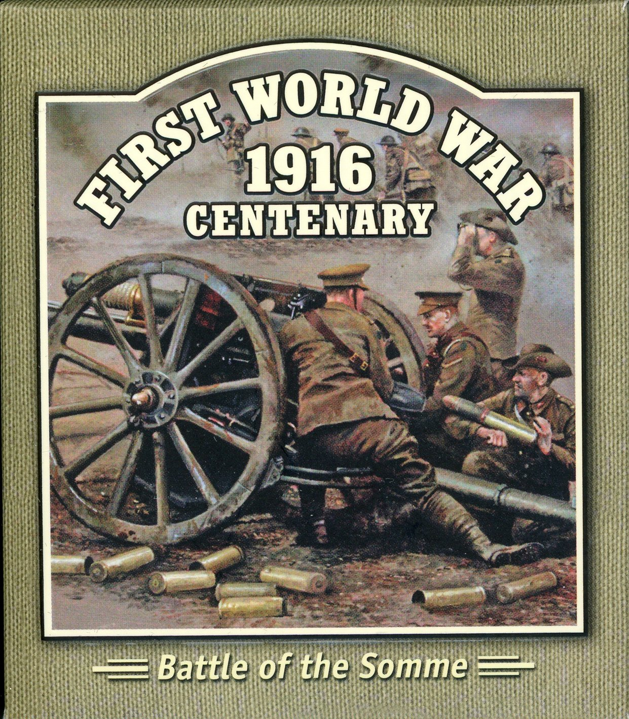 Thumbnail for 2016 Solomon Islands Coloured Silver Proof - Forst World War Battle of the Somme