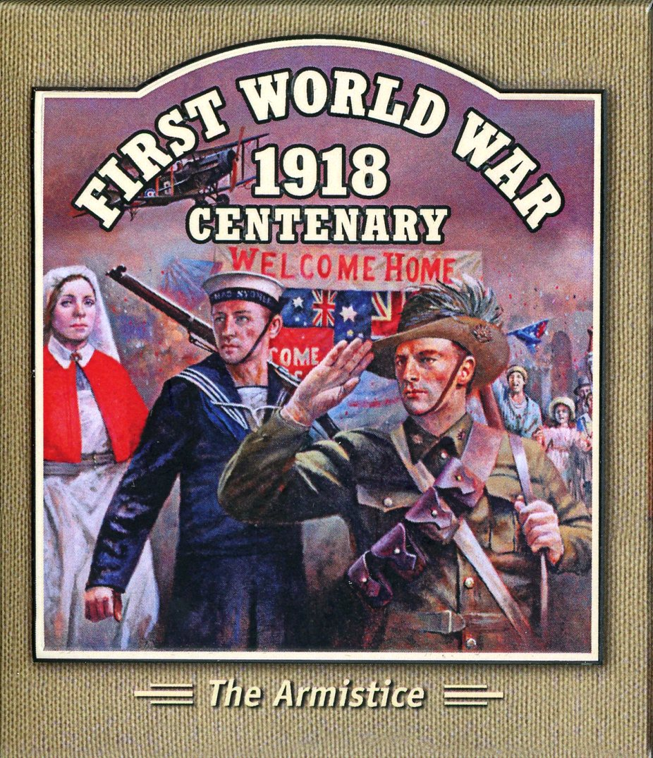 Thumbnail for 2018 Solomon Islands Coloured Proof Coin - First World War The Armistice