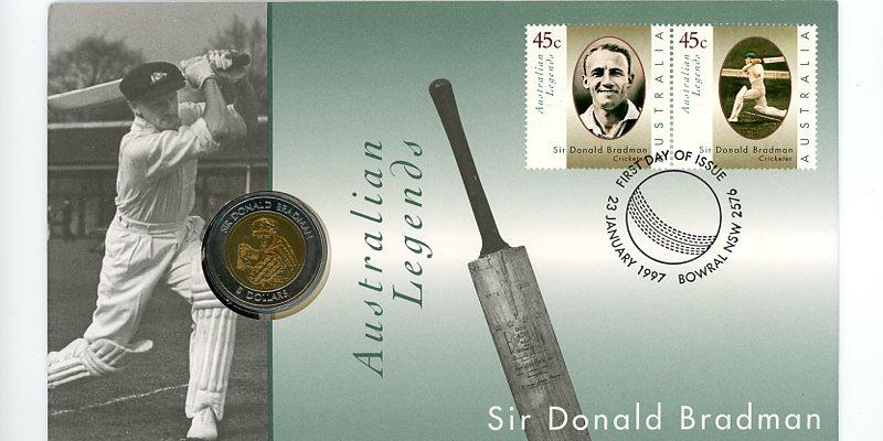 Thumbnail for 1997 Australian legends - Sir Donald Bradman