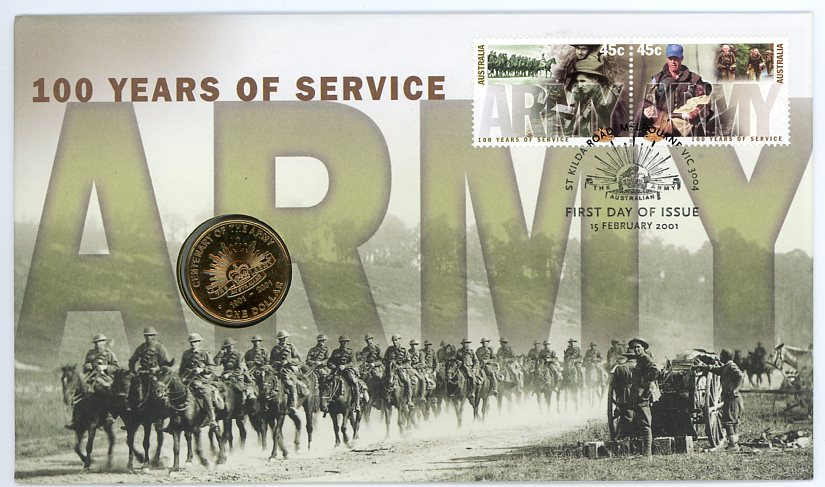 Thumbnail for 2001 Army 100 Years of Service