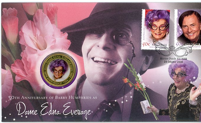 Thumbnail for 2006 50th Anniversary of Barry Humphries as Dame Edna Everage