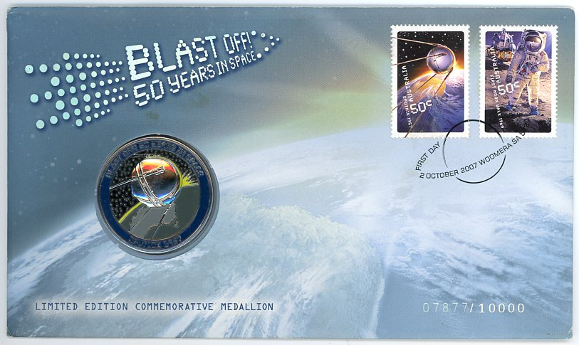 Thumbnail for 2007 Blastoff 50 Years in Space