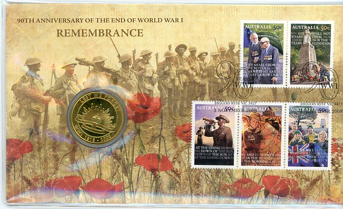 Thumbnail for 2008 Issue 07 90th Anniversary of The End of WWI