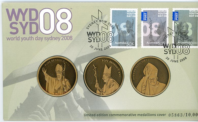 Thumbnail for 2008 World Youth Day Sydney 2008 Medals PNC