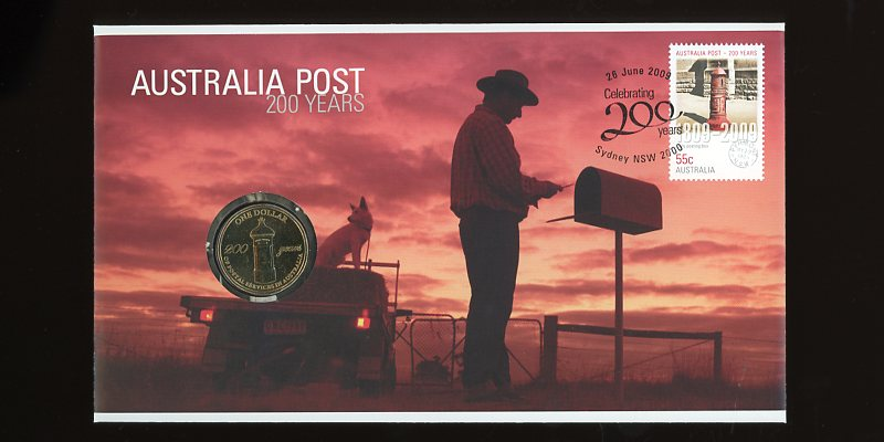 Thumbnail for 2009  Issue 03 200 Years Australia Post Boxes