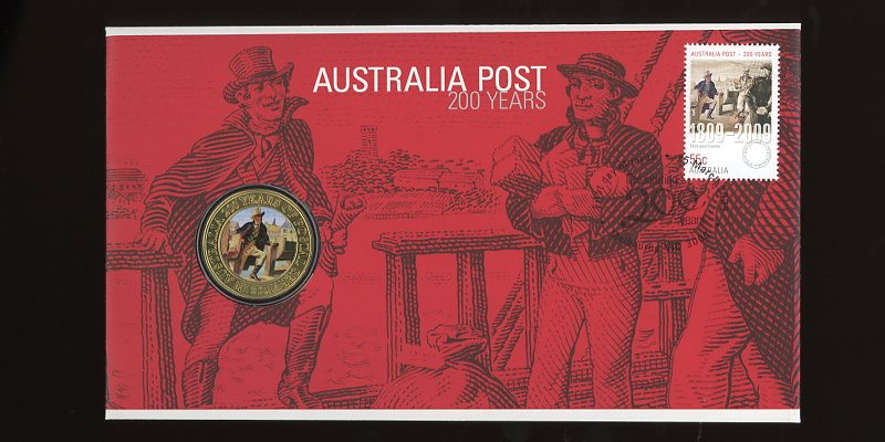 Thumbnail for 2009  Issue 02 200 Years Australia Post First Postmaster