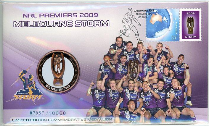 Thumbnail for 2009 NRL Premiers PNC - Melbourne Storm